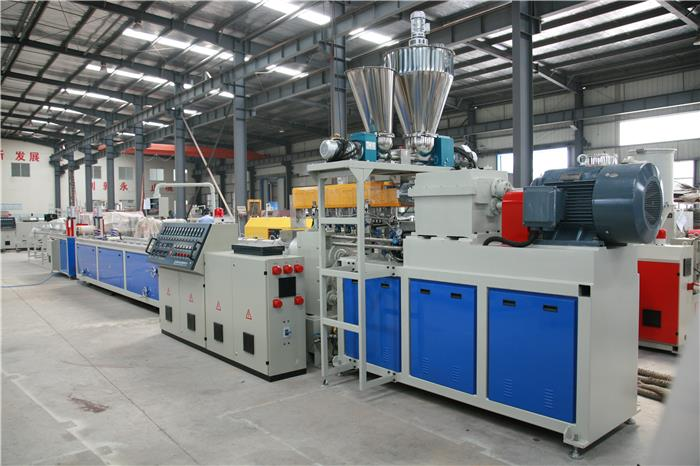 1 WPC one step profile extrusion line_副本1.jpg