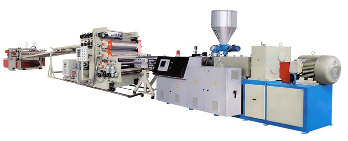 5 PVC +ABSHIPSPMMA transparent sheet Board Production Line.jpg