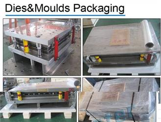 Package for progressive tool sheet metal