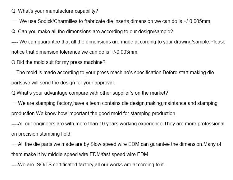 FAQ of sheet metal working tools