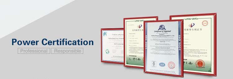 certificate progressive tool sheet metal