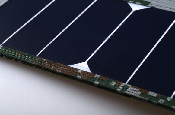 Monocrystalline silicon foldable solar panel