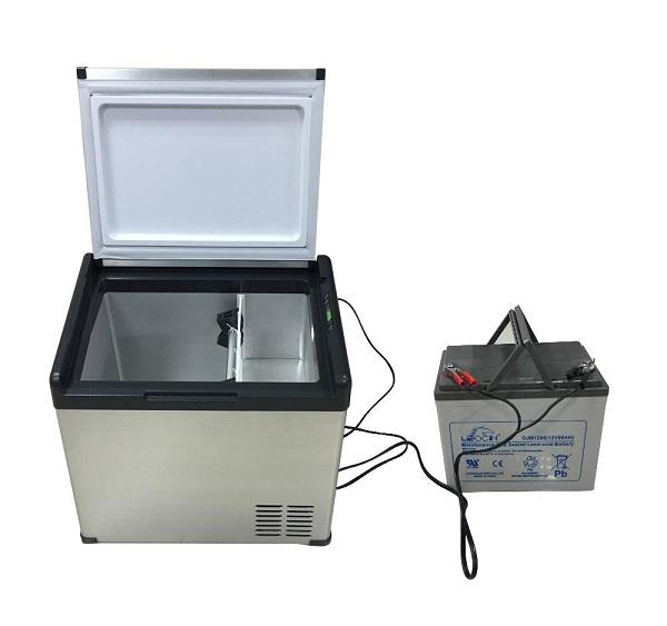 camping freezer box